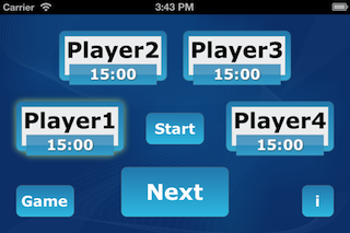 GameTimer Screenshot