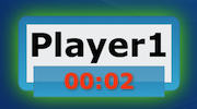 GameTimer Time is up for Player1